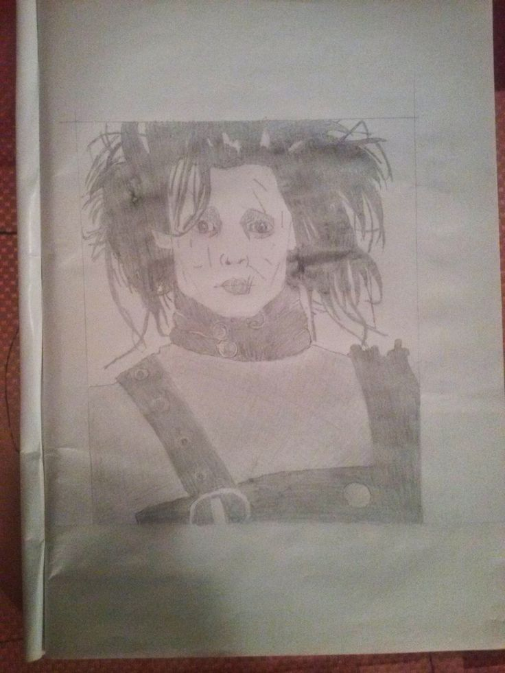 Edward Scissorhand art