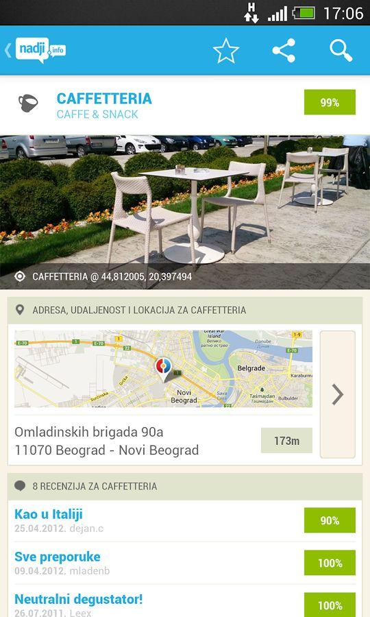 Preuzmite nadji.info android aplikaciju i otkrijte mesta oko sebe ...