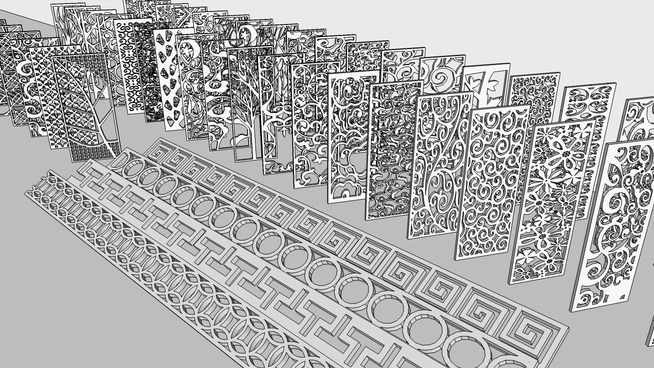 Large preview of 3D Model of HOME ORNAMENT  Sketchup and