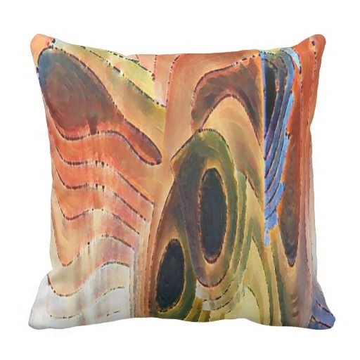 In Our Time 50-17 Square Pillow