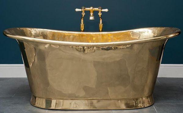 Love … this brass bathtub