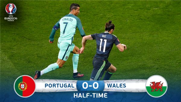 Wales Portugal Tore