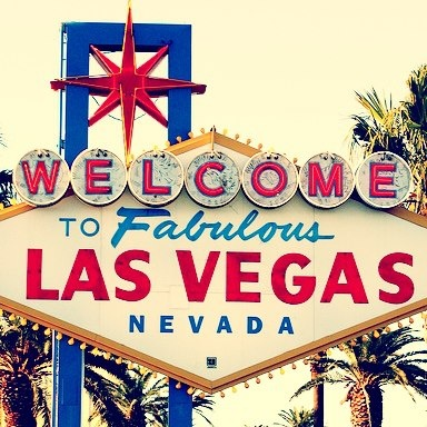 Welcome to Las Vegas :)