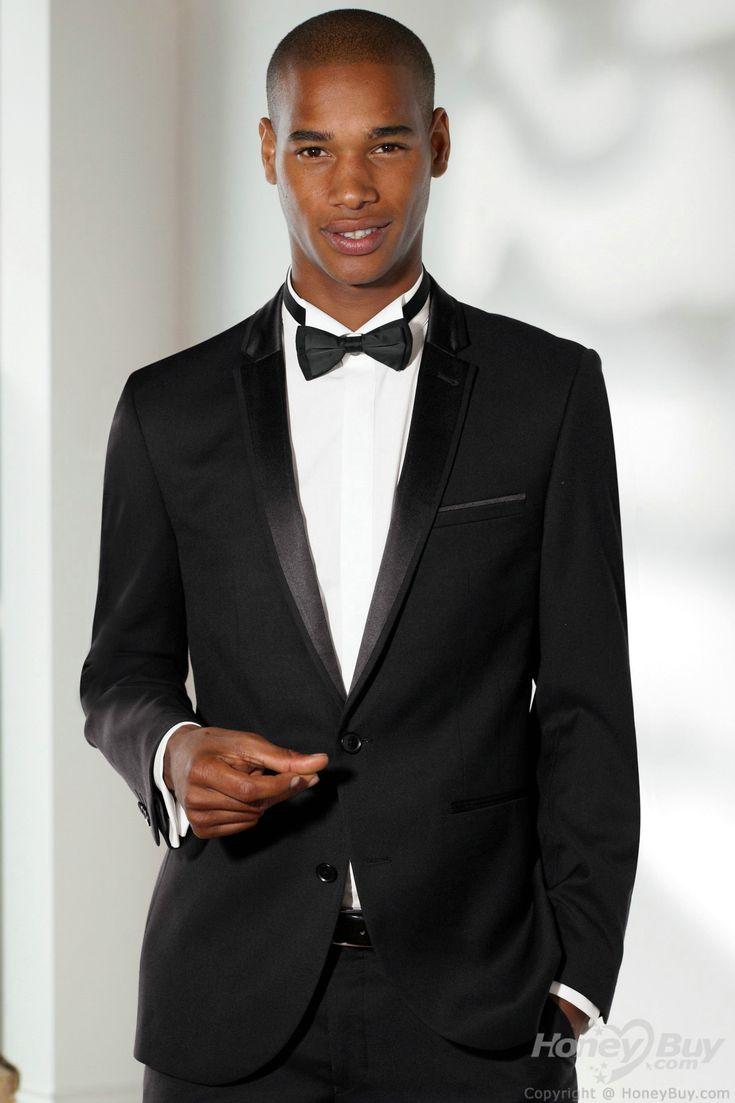 Notch_Lapel_Two_Buttons_Black_Men_Suits_for_Wedding__1