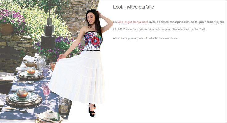 Look invitée parfaite http://www.cotondumonde.com/look-03