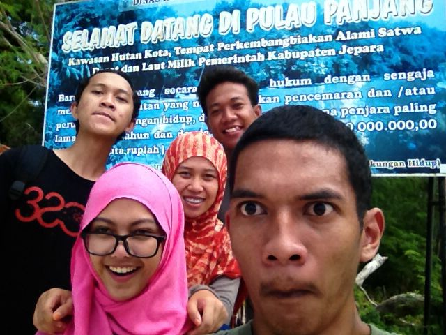 Welcome pulau panjang :)