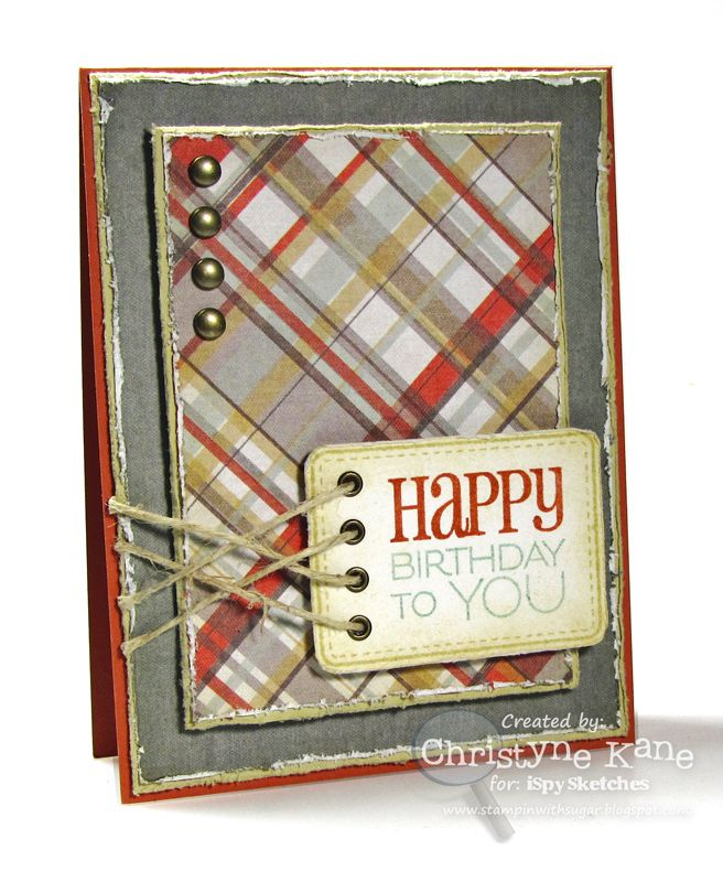 Stampin' with Sugar: ISSC39 - Happy Birthday