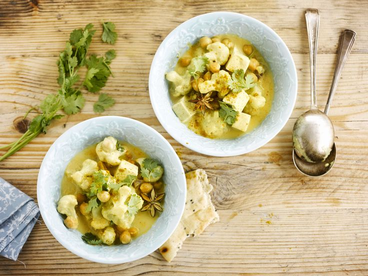 Alpro - Blumenkohl-Curry - Schnelles Curry mit Blumenkohl und Kokosnuss