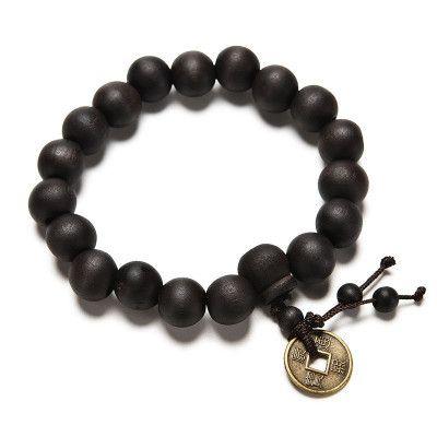 Wooden 19 Bead Mala Bracelet