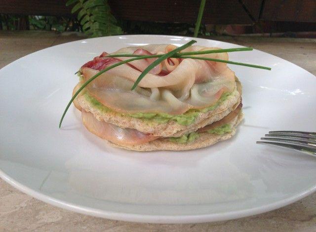 Denny Chef Blog: Pancakes pesce spada e avocado