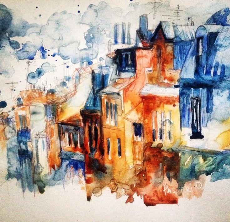 ARTFINDER: Esquirol Toulouse by Olga Pascari - city