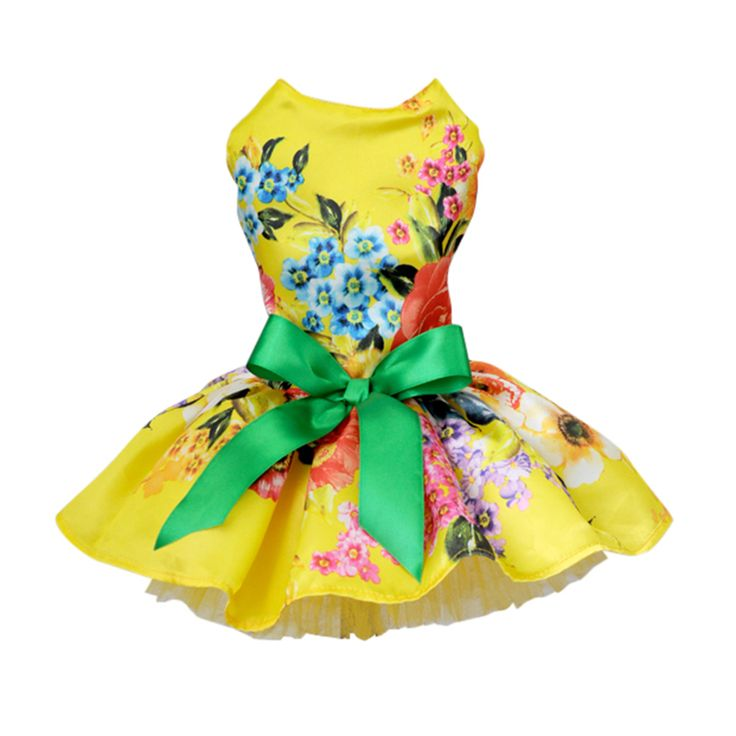 Dog Dress Pets Dogs Puppy Cats Princess Bowknot Floral Dress Pets Costume XS/S/M/L/XL // FREE Shipping //     Get it here ---> https://thepetscastle.com/dog-dress-pets-dogs-puppy-cats-princess-bowknot-floral-dress-pets-costume-xssmlxl/    #dog #dog #puppy #pet #pets #dogsitting #ilovemydog #lovedogs #lovepuppies #hound #adorable #doglover