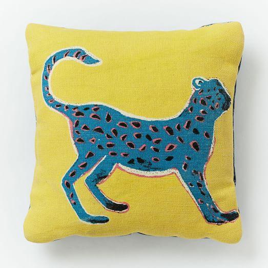 Outdoor Cheetah Pillow | west elm