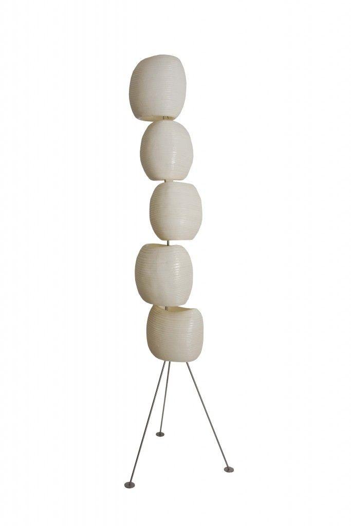 Five Stone Floor Lamp