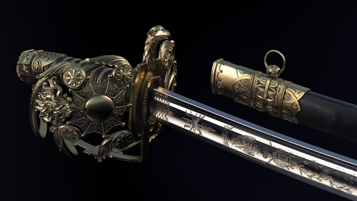 ArtStation - French sword, Anastasia Fileva