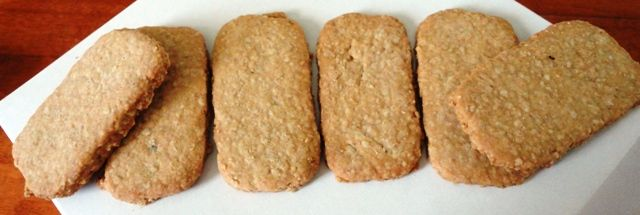 """Oatcakes from """"Dancing Goat"""""""