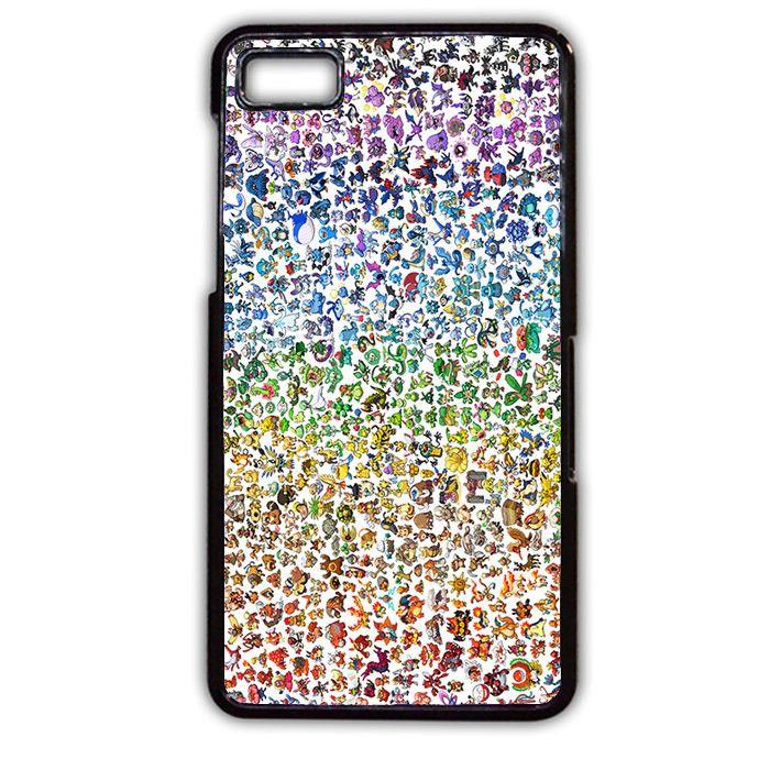 Pokemons TATUM-8843 Blackberry Phonecase Cover For Blackberry Q10, Blackberry Z10