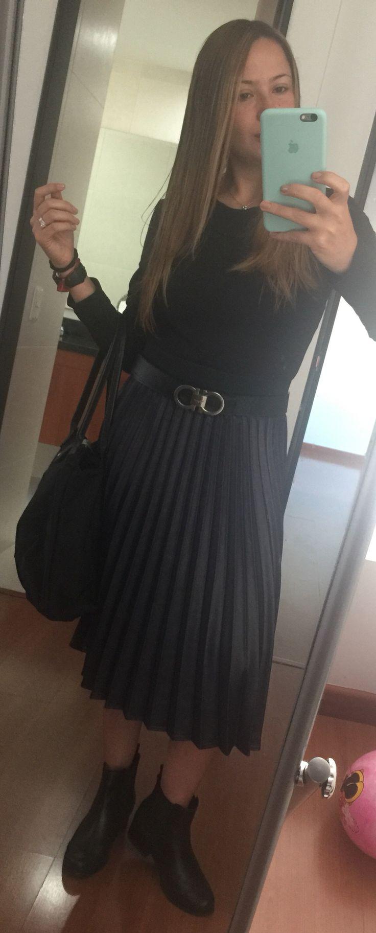 Falda en tablones siempre es una buena idea!