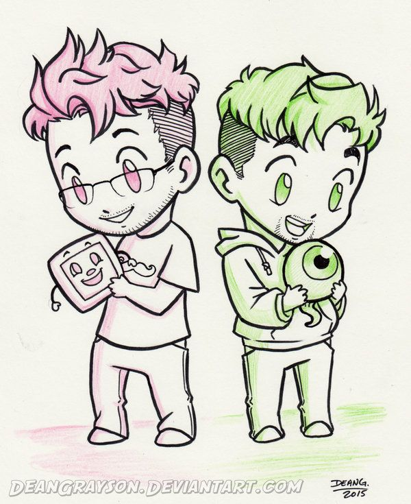 Commission - Markiplier and Jacksepticeye by DeanGrayson on DeviantArt