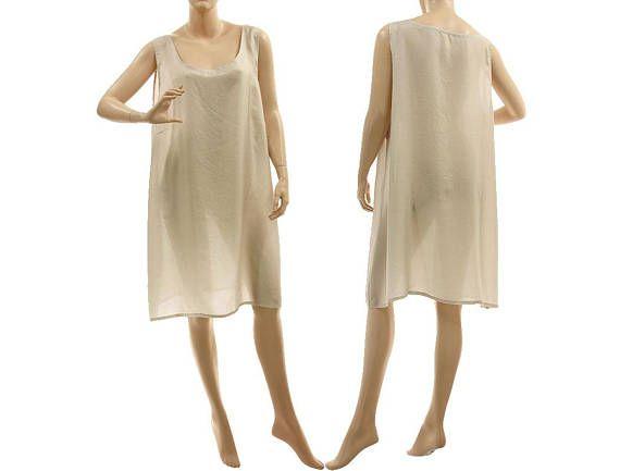 Grey silk slip dress with wide straps grey silk lingerie