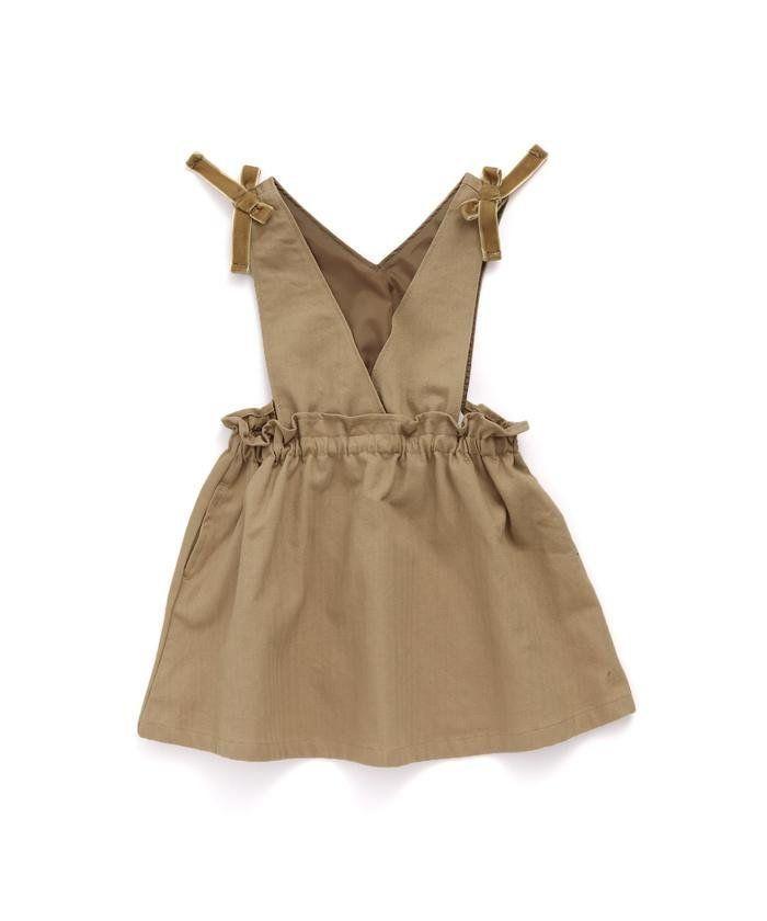 11b85ea0ac982  アプレレクール apres les cours   KIDS の肩リボンジャンパースカート レディースファッション