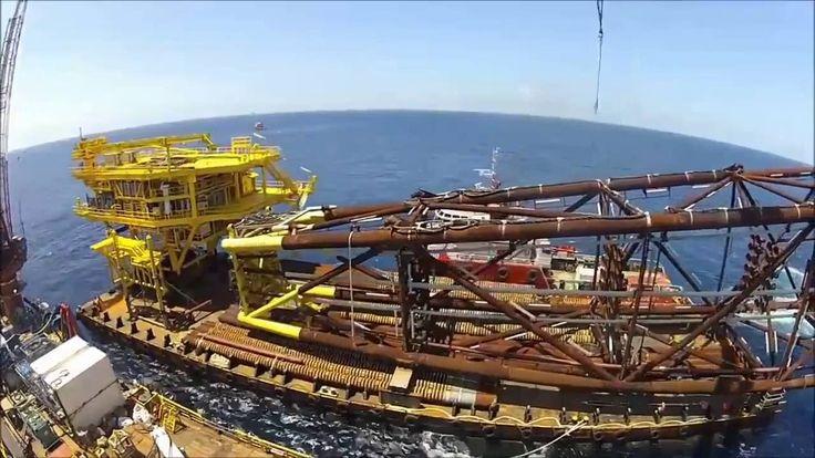 (Canggih, Keren, KAGUM silahkan Subscribe) Konstruksi Tambang Offshore  #oil #gas #petroleum #porn
