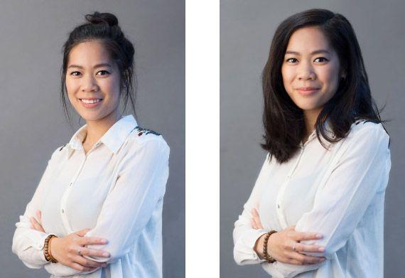 Offene Haare Wirken Lockerer Und Sehen Eher Nach Freizeit Aus Bewerbung Foto Bewerbungsfoto Bewerbungsfotos Selber Machen