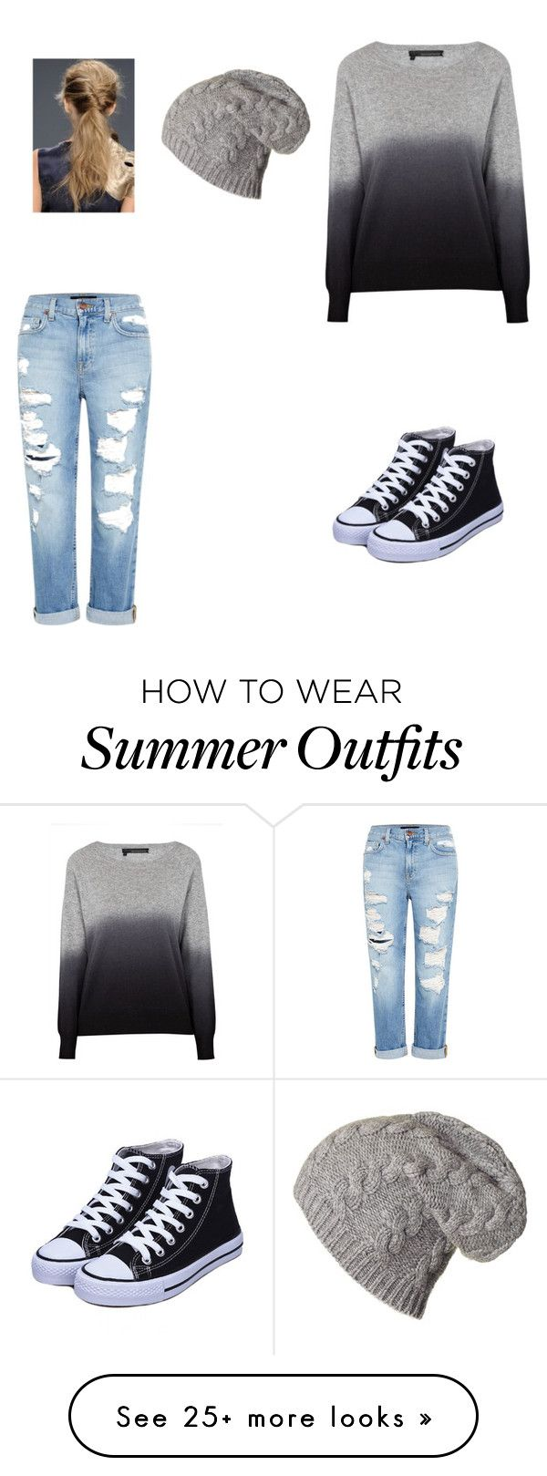 """""""My first outfit"""" by redmidnightwolf on Polyvore featuring 360 Sweater and Genetic Denim"""