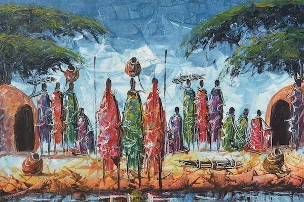 Живопись. Африканское искусство,