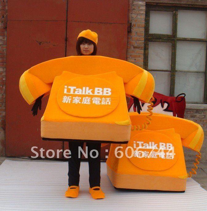 カスタムメイド黄色電話マスコット衣装カスタムスポンジボブ衣装の成人衣装広告サイズ送料無料.jpg 673×686 ピクセル
