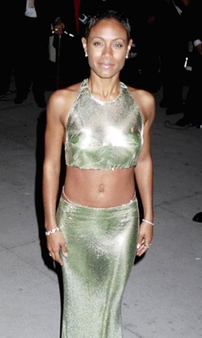 Джада Пинкетт Смит (Jada Pinkett Smith) в наряде от Versace, 1997 год