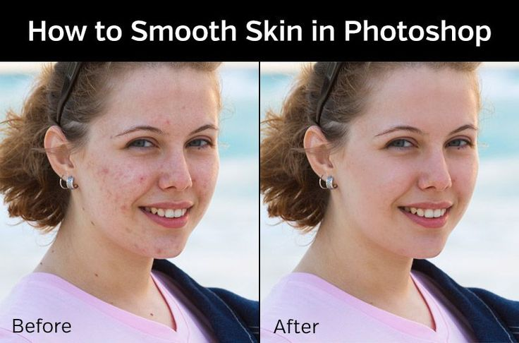 How to smooth and retouch skin in Photoshop quickly with the help of Photoshop actions.
