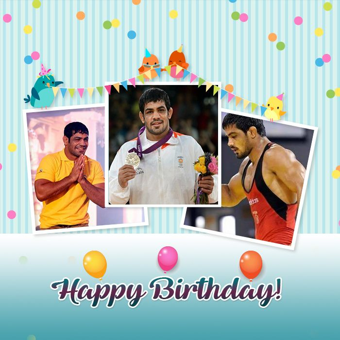 Happy Birthday to the one and only Indian to win 2 individual Olympic Medals! Sushil Kumar The King of #Freestyle #ZahirRana