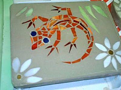 86+ Easy Simple Mosaic Art - Simple Mosaic Ideas 23 Best Love Images