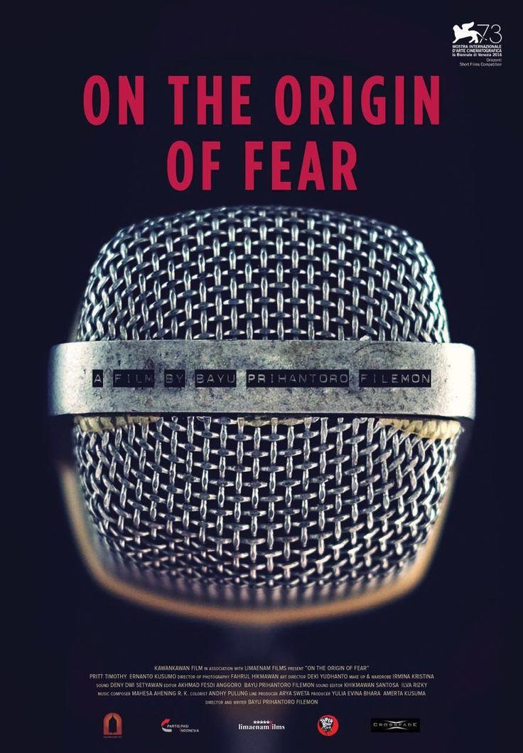 On The Origin of Fear by Bayu Prihantoro Filemon.  #Venezia73 #Orizzonti Short Film Competition. Poster.