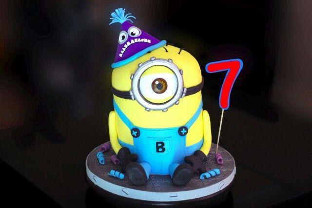 Torta minion 3D. #Cake #minion #mar del plata #mdp # mdq #torta para niños