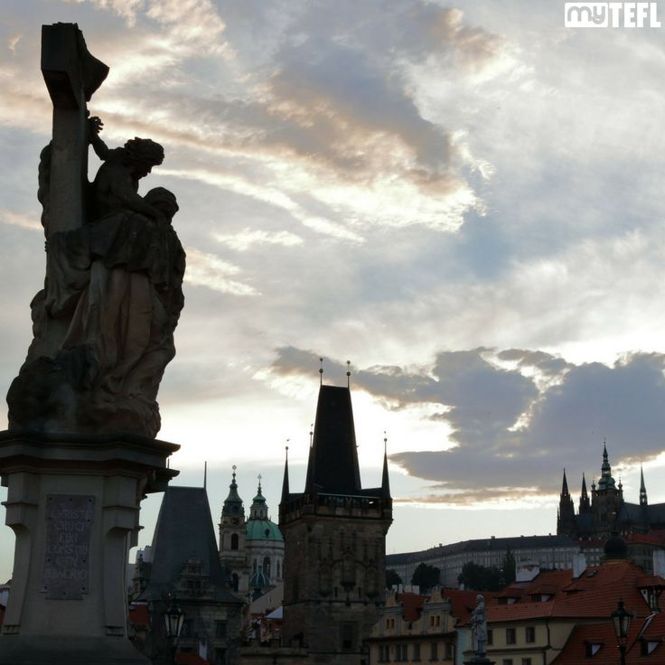 Prague is just one of the awesome European cities you could be living and working in with a #TEFL qualification. #travel #EFL #TEFL #TEFLEurope #Czechia #CzechRepublic #Prague #Praha #traveling #getoutthere #newlife #newcareer #EFLinEurope #Europa