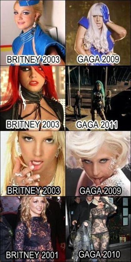 Hahahah awesome. I love lady gaga though... But not nearly as much as my girl Britney