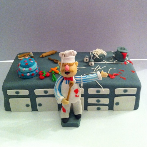 Swedish chef taart