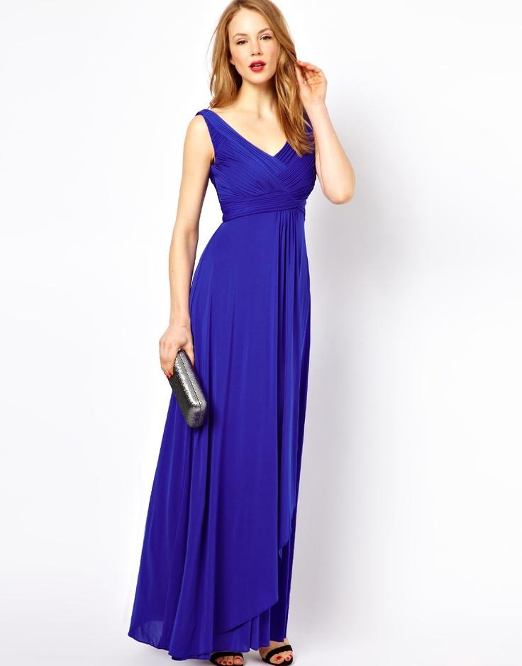 Vistoso Bígaro Vestidos De Dama Azul Embellecimiento - Ideas para el ...