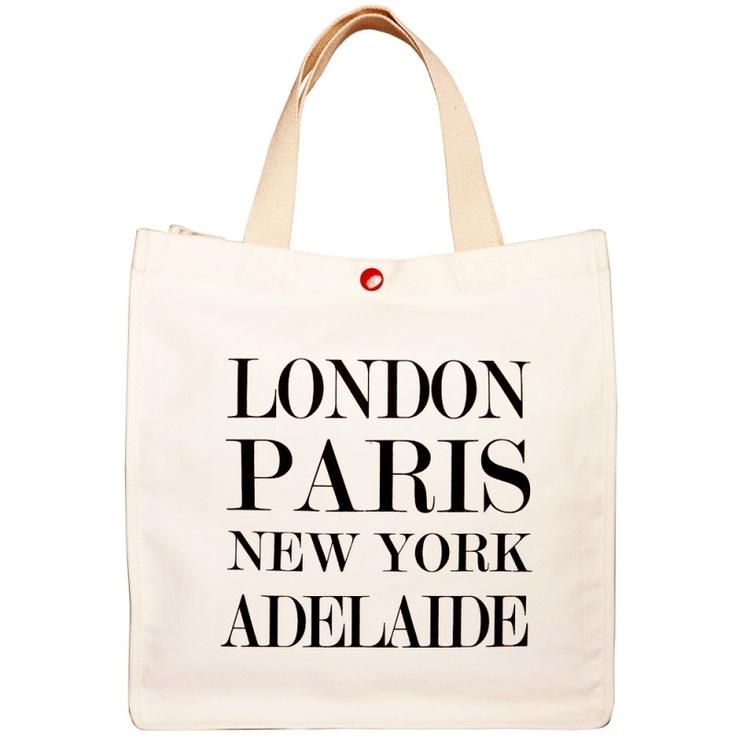 London, Paris, New York, Adelaide