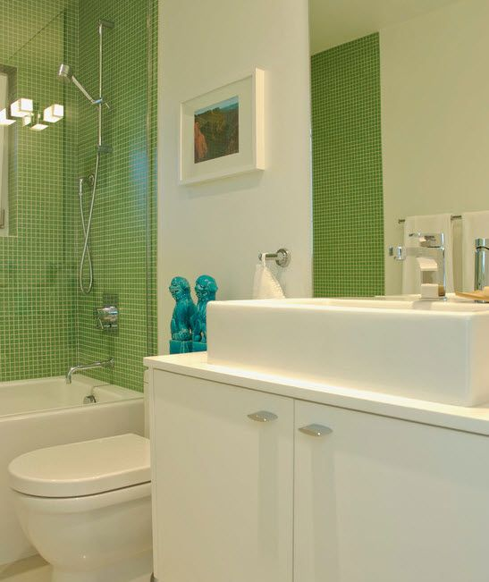 Green Glass Tile Bathroom: 17 Best Ideas About Lime Green Bathrooms On Pinterest