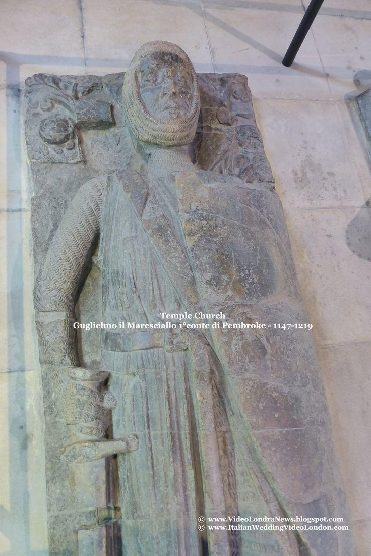 Temple Church - Round Church *** Temple Church, a Londra la chiesa dei Templari *** #Londra #London #TempleChurch *** Guglielmo il Maresciallo 1°conte di Pembroke (1146-1219), oltre ad essere stato il tutore del piccolo re Enrico III° divenne anche reggente del regno fino al 1219, anno in cui morì. Fu insignito del titolo di Cavaliere dei Templari e aderì all'Ordine dei Templari sul letto di morte