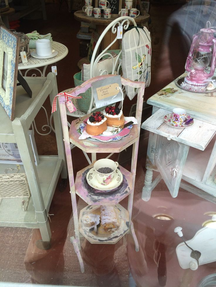Vintage Cake Stand given the works at The Store Room Gorey. € 125.00