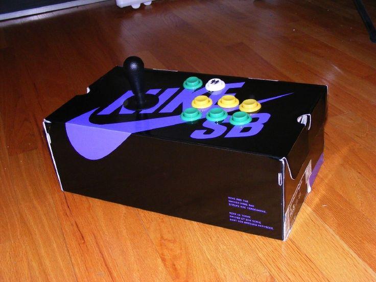 Nike SB box custom xbox arcade sticks |