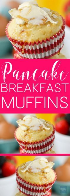 #generalmills #bettycrocker AD Pancake Muffins! All the goodness of pancakes in one super easy and fun recipe! Add this to your breakfast and brunch recipes board!