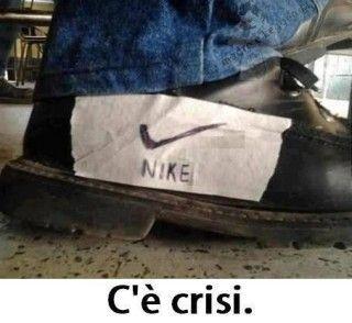 C'è crisi