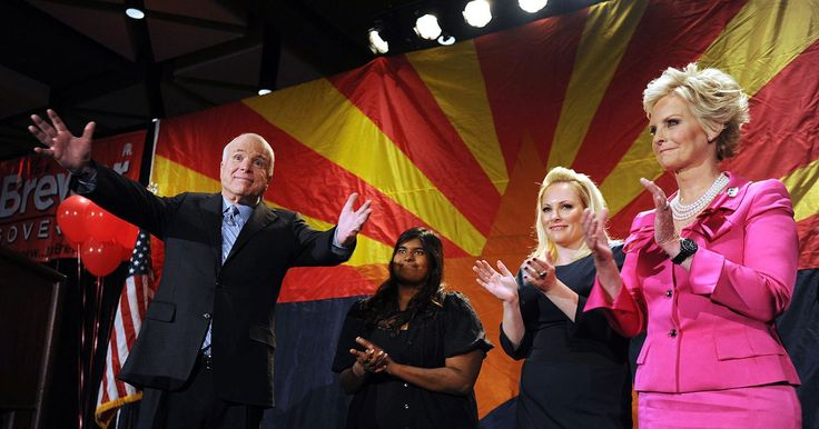 John McCain's Wife Says Their 'Family Will Face the Next Hurdle Together' Following Brain CancerDiagnosis