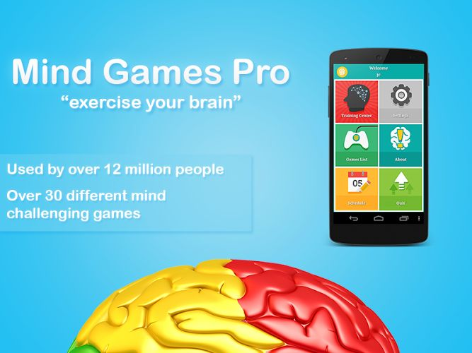 Mind Games Pro v2.5.7   Mind Games Pro v2.5.7Requirements:2.2 Overview:Exercise Your Brain! This is the unlimited ad-free version of the hit brain training app. Mind Games is a great collection of games based in part on principles derived from cognitive tasks to help you practice different mental skills. This app includes all of Mindwares brain exercising games.  All games include your score history and graphs of your progress. The main app shows a summary of your best games and todays…