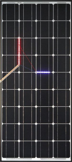 Haroon Mirza Solar Powered LED Circuit Composition 3 2014. Courtesy of the artist.